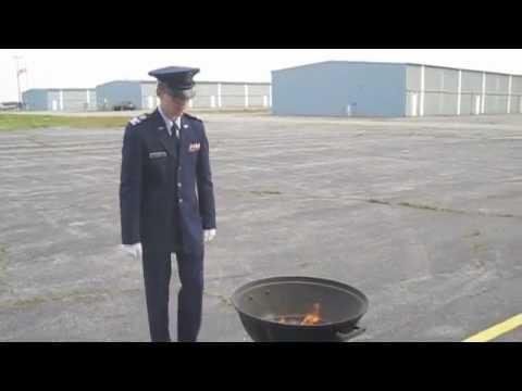 Ceremonial Flag Burning
