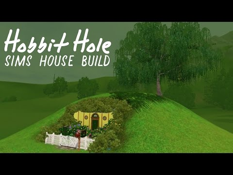 Sims 3 House Build: HOBBIT HOLE!ヽ(^o^)丿