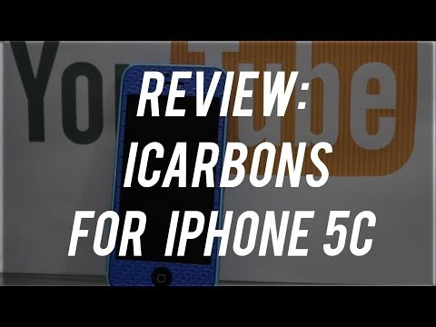 Review : iCarbons Carbon Fiber Skin For iPhone 5C