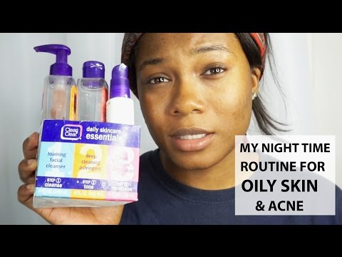 Night Time Skincare Routine for Acne & Oily Skin 2016 | Trishonnastrends