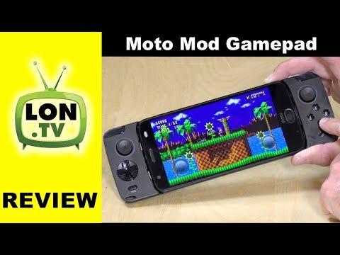 Moto Mod Gamepad Review for Motorola Z Series Phones