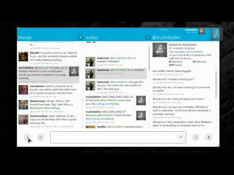 MetroTwit Twitter Client for Windows