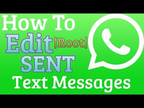 How To Edit Sent Whatsapp Messages! | Fool Your Friends NOW!