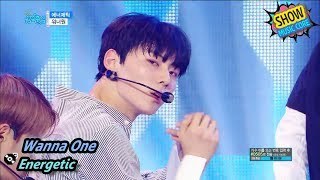 [HOT] Wanna One - Energetic, 워너원 - 에너제틱 Show Music core 20170826