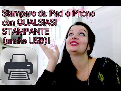 Come Stampare direttamente da iPad e iPhone anche con stampanti USB