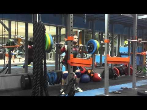 Squat 130kg x20
