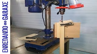 How to make a vertical drill press table