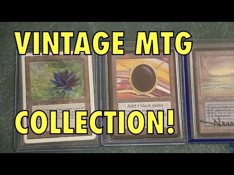 Vintage Magic: The Gathering Collection! Black Lotus, Alpha, Beta Revised Dual Lands! Moxes! MTG