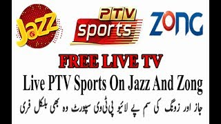 Live streaming Sport and all Cables channels free on jazz sim