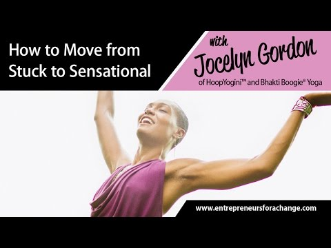 Jocelyn Gordon, HoopYogini™ & Bhakti Boogie® Yoga