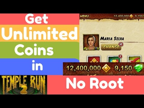 How to Get Unlimited Coins in TempleRun 2 without Root..!!!