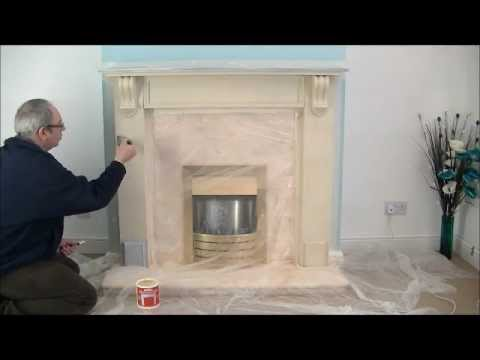 Fireplace Stone Coating - create a stone fireplace