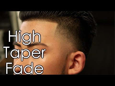 How To: High Taper fade | Long on Top w/ Straight Hair (Haircut Tutorial)