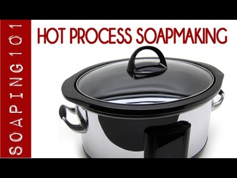 Hot Process Soapmaking  {a step by step tutorial}   S2W47