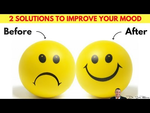 😃 2 Proven Solutions For Improving Your Mood & Reducing Worry, Anxiety & Stress