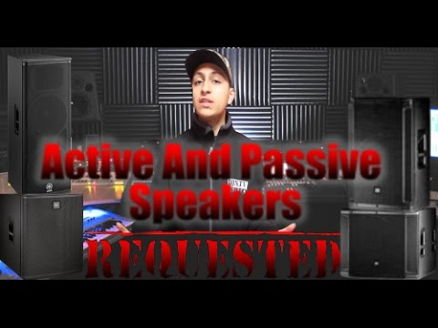 How To Setup Active and Passive Speakers Together | Requested Video | DJ Tips
