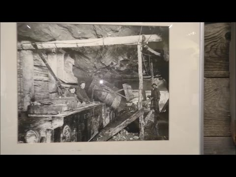 120 year old train discovered underground old mine carts and lots more frozen treasures thawed out.