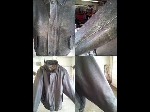 leather dye leather jacket restoration st louis
