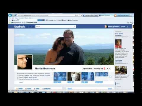 How do I post a comment on a Facebook business page? - Martin Brossman