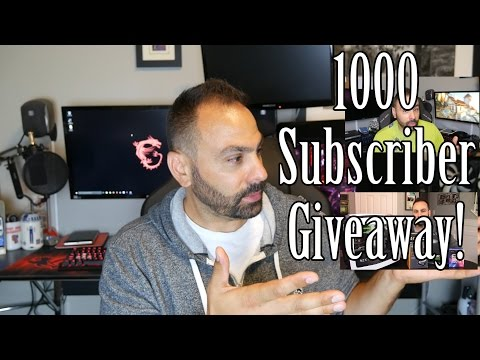 1000 Subscriber Giveaway!!!1!!1!