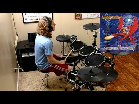 RHAPSODY // Symphony of Enchanted Lands // Drum Cover by Christian Carrizales