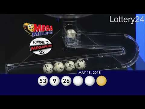 2018 05 18 Mega Millions Numbers and draw results