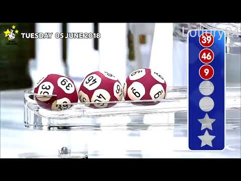 2018 06 05 Euro Millions Number and draw results