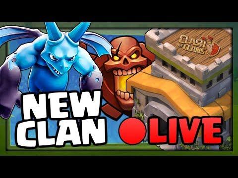 NEW CLAN LIVE! Mini Elite Announcement in