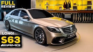 2020 MERCEDES AMG S63 Long V8 NEW Exclusive FULL Review 1 OF 1 S Class 4MATIC+