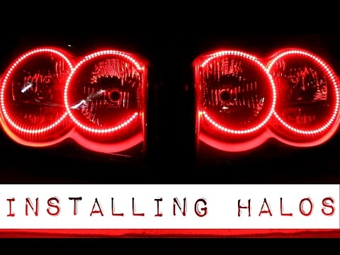 How to Install Halos in Headlights - Detailed Guide