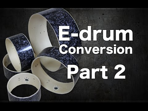 E-drum Conversion Part 2 (Wrapping)