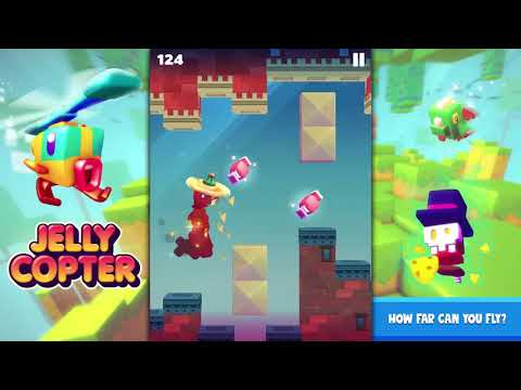 Official Jelly Copter (by Kiloo) Trailer ( iOS / Android )