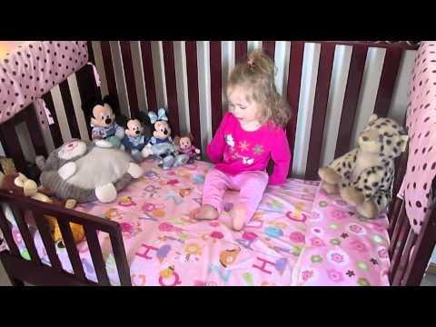 Natalie gets a Toddler Bed!!
