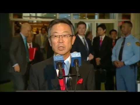 ICP Asked PR of Japan, Elected to UNSC, If Change in Military Law Will Impact Positions on SC, DPKO