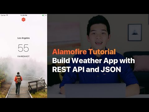 ALAMOFIRE: BUILD WEATHER APP WITH REST API, JSON AND ALAMOFIRE IN iOS WITH SWIFT