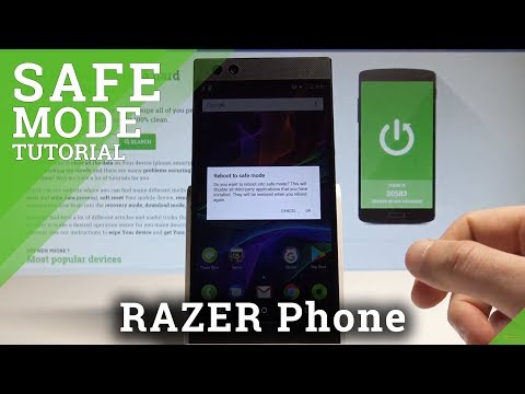 How to Enable Safe Mode in RAZER Phone - Open / Exit Safe Mode |HardReset.Info