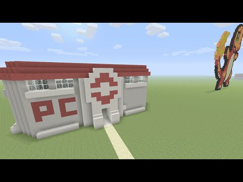 Minecraft Xbox Pokemon Centre  Build