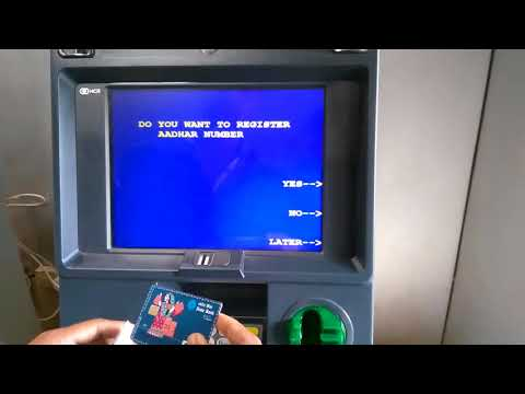 SBI ATM PIN Generation through SBI ATM  live...at ATM