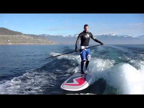 Surf the wave's boat with SUP Nidecker 9'11