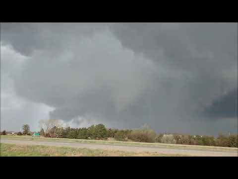 Tornadoes in Kansas! May 1st 2018 (storm chase)