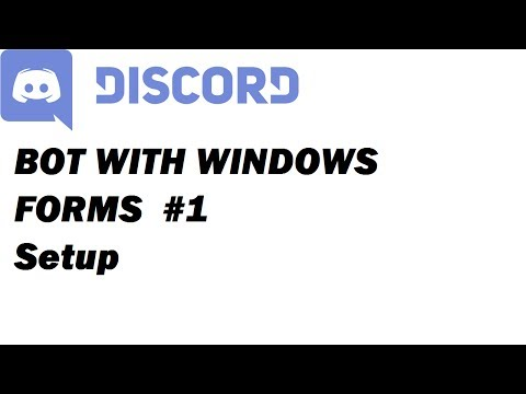 Discord.NET 1.0 with Windows Forms! #1 [1080]
