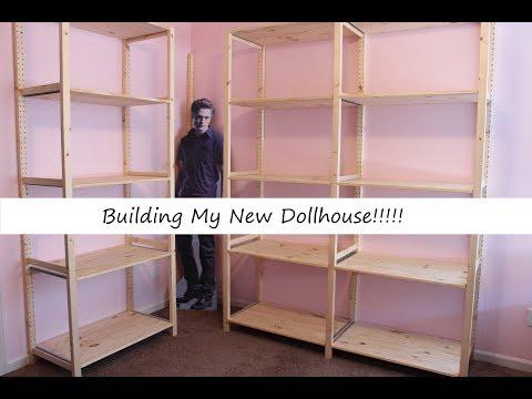 Building My New Dollhouse!
