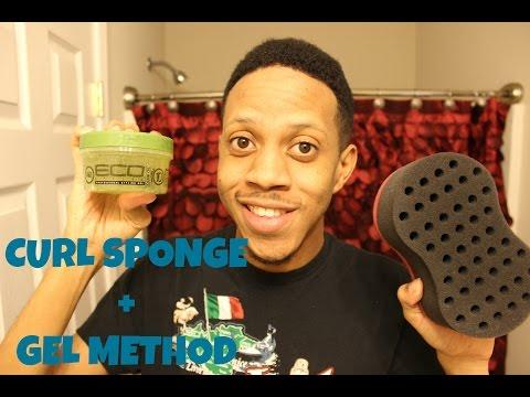 How To Get Curly Hair + Gel Method & Curl Sponge