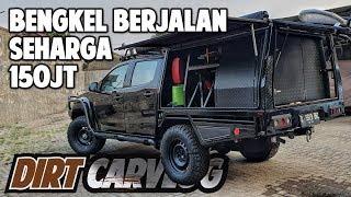 ISUZU DMAX DISULAP JADI BENGKEL BERJALAN MEWAH! | DIRT CARVLOG #91