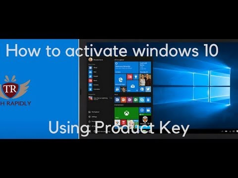 How to Activate Windows 10 Using  Product Key[100 % Working]