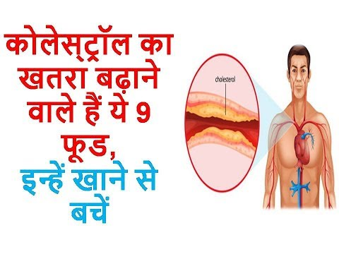 Beware! These 9 Foods can increase your Cholesterol ll Ayurveda Home Care