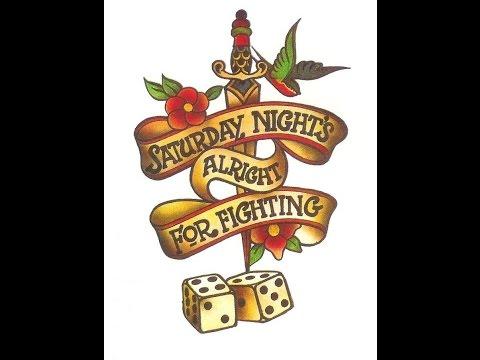 Elton John - Saturday Night's Alright for Fighting (1973) With Lyrics!