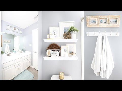 Guest Bathroom Refresh and Organization