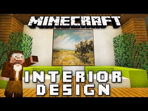 Minecraft Tutorial:  Bathroom Furniture Design Ideas   (Modern House Build Ep 10 )