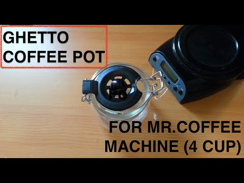 How to Fix a Coffee Maker Pot ( Make your own IKEA coffee pot )
